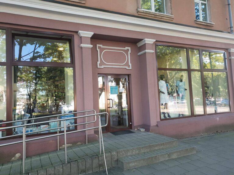Medicininių ir odontologinių prekių parduotuvė Klaipėdoje Skirgesa
